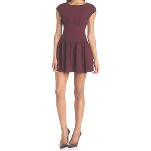 BCBGeneration Drop Waist Mini Dress size 6